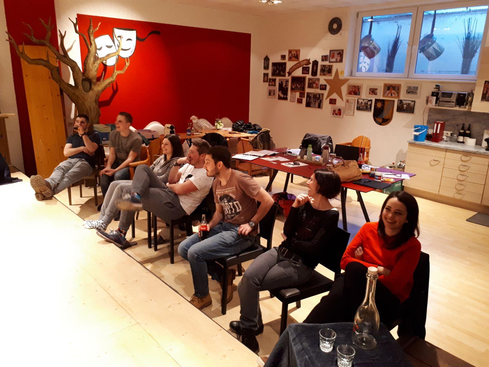 Spieler-Workshop mit Tanja Ghetta