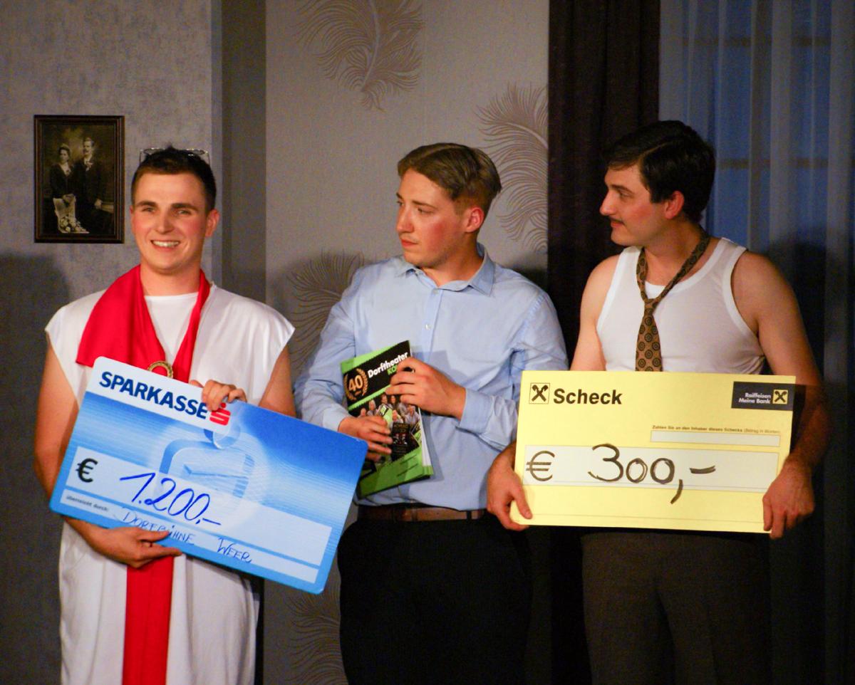€ 1500 Spende für den Weerer Hilfsfond